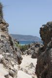 Crete beach Elafonisi Stock Image