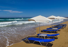 The Crete beach Stock Photo