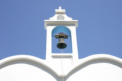 Crete / Bell tower Stock Photography