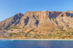 Crete blisko Agia Roumeli, Grecja Zdjęcie Royalty Free