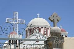 Crete/chiesa di Sitia Immagine Stock