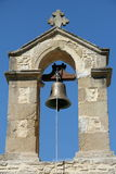 Crete Church Bell. Polyrinnia, Crete, Greece. An Ancient village on the island of Crete, Greece. This is the village church bell Royalty Free Stock Images