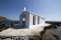 Crete church stock photo