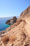 Crete coast Balos Stock Photos