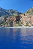 Crete coast Stock Image