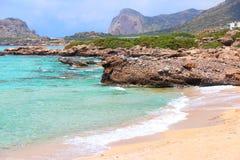 Crete - Falasarna beach Stock Photos