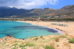 Crete - Falasarna Stock Image
