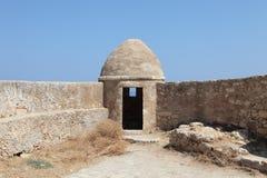 crete fort Rethymnon obraz royalty free