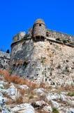 crete fortetza forteczny rethymno forteczny zdjęcie stock