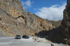 Crete g?ry krajobraz obraz stock