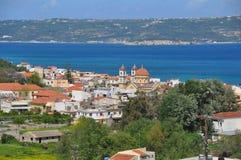 crete georgioupolis Arkivbild