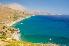 crete greece Royaltyfri Bild