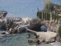 Crete Greece Agios Nikolaos. Outside the city Stock Photo
