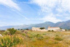 Crete - Greece - Frangokastello Stock Photo