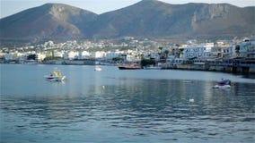 crete greece härligt kusthav arkivfilmer