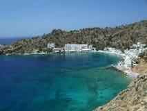crete greece loutro Royaltyfri Fotografi