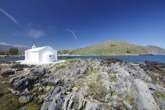Crete, igreja, Greece foto de stock