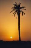 Crete Island. Beautiful sunset on Crete Island Royalty Free Stock Photos