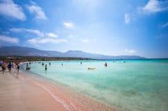 CRETE ISLAND, GREECE - JUNE 27: Royalty Free Stock Photography