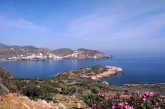 Crete Island in the Spring Stock Image