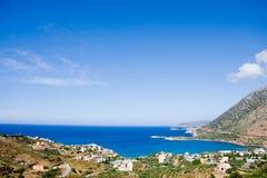 crete isle arkivfoton