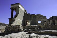 crete knossos Arkivbild