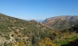 Crete landscape. Fodele. Crete. Greece. Hills Stock Photo