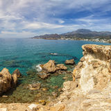 Crete landscape Royalty Free Stock Image