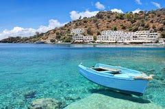 Crete, Loutro Obrazy Stock