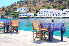 Crete, Loutro Stock Photos