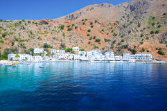 Crete, Loutro Stock Photography