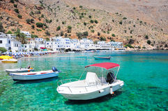 Greek islands Crete Stock Photography