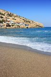 Crete - Matala Royalty Free Stock Image