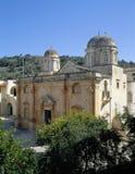 crete Monasterio de Agia Triada fotos de archivo