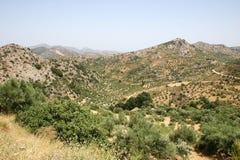 Crete/montañas fotografía de archivo libre de regalías