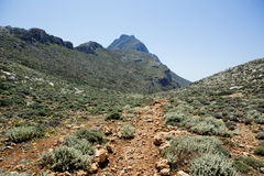 Crete mountain. Stock Images
