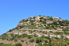 Crete mountain peak Royalty Free Stock Photos