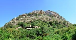 Crete mountain peak Royalty Free Stock Photography