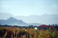 Crete mountain range Royalty Free Stock Images