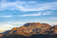 Crete Mountain Range Stock Photography