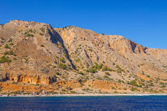 Crete near Agia Roumeli, Greece Stock Images