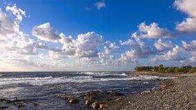 crete Nubes y ondas Foto de archivo