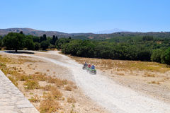 Crete offroad trip Royalty Free Stock Photos