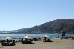 Crete Paleohora beach Stock Images