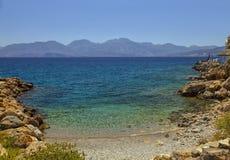 Crete plaża Obraz Royalty Free