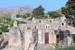 Crete Preveli monastery Stock Photography