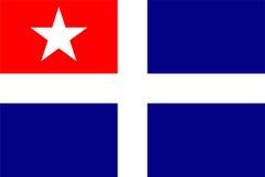 Crete region flag Royalty Free Stock Photos