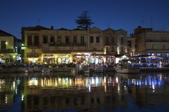 Rethymno on Crete Royalty Free Stock Photography