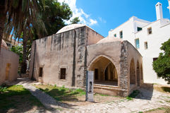CRETE,RETHYMNO-JULY 23:Kara Musa Pasha Mosque on July 23,2014 in Rethymnon city on the Crete island, Greece.  Stock Photos