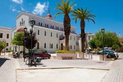 CRETE,RETHYMNO-JULY 23: Megalos Antonios church on July 23,2014 in Rethymnon city on the Crete island, Greece. Stock Photos